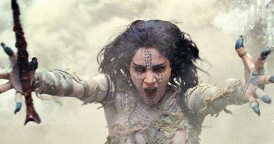 """Sofia Boutella appears in a scene from """"The Mummy."""""""