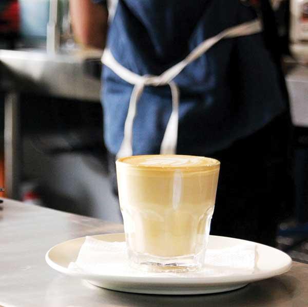Hustle Cafe Latte