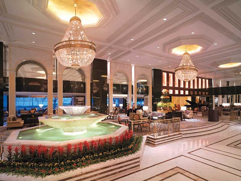 Kowloon Shangrila's Grand Lobby